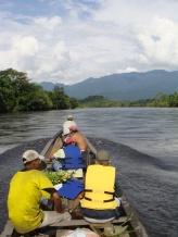 Colombie_Déplacement des observateurs-trices en chaloupe©PWS2010