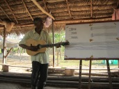 Colombie_enregistrement de chansons de la communauté de Las Pavas©PWS2013