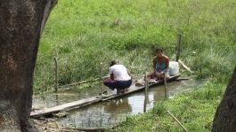 Colombie_Les communautés accompagnées vivent le long du fleuve Magdalena©PWS2013