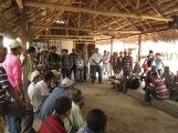 Colombie_Visite de l'armée dans la communauté suite à une plainte ©PWS2013