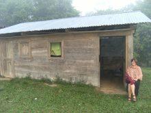 Guatemala_Logement des observateurs dans une des communauté accompagnée©PWS2009