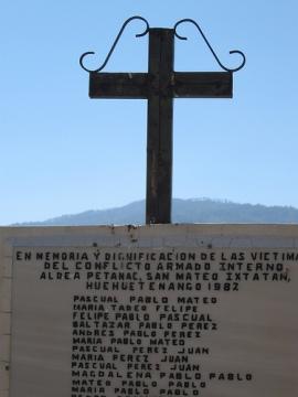 Guatemala_Mémorial pour esl victimes du conflit armé©PWS2009