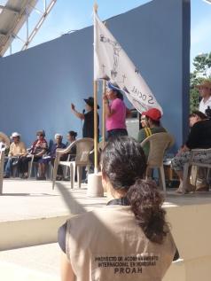 Honduras_Présence lors d'un événement d'une organisation accompagnée ©Christelle Genoud 2015