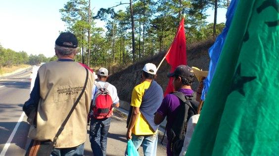 Honduras_Présence lors d'une manifestation publique ©PROAH2011