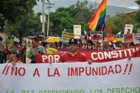 Honduras_Présence lors d'une manifestation publique©PWS2011