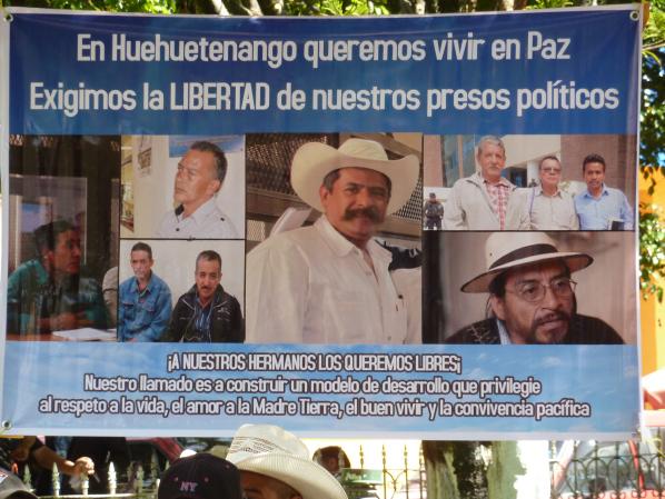 Kriminalisierung von Menschenrechtsverteidigern in Huehuetenango