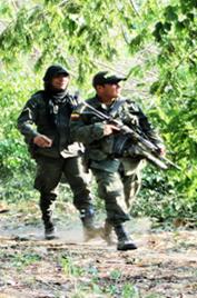 Police à Las Pavas ©TRodriguez2015