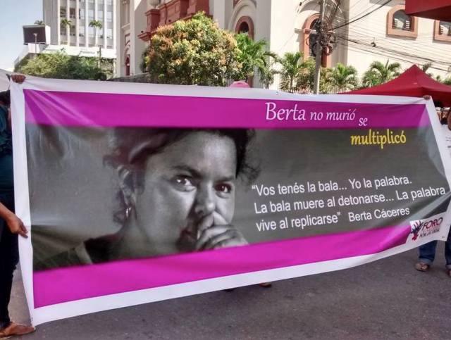 Berta Cáceres ist nicht gestorben – sie hat sich vervielfacht