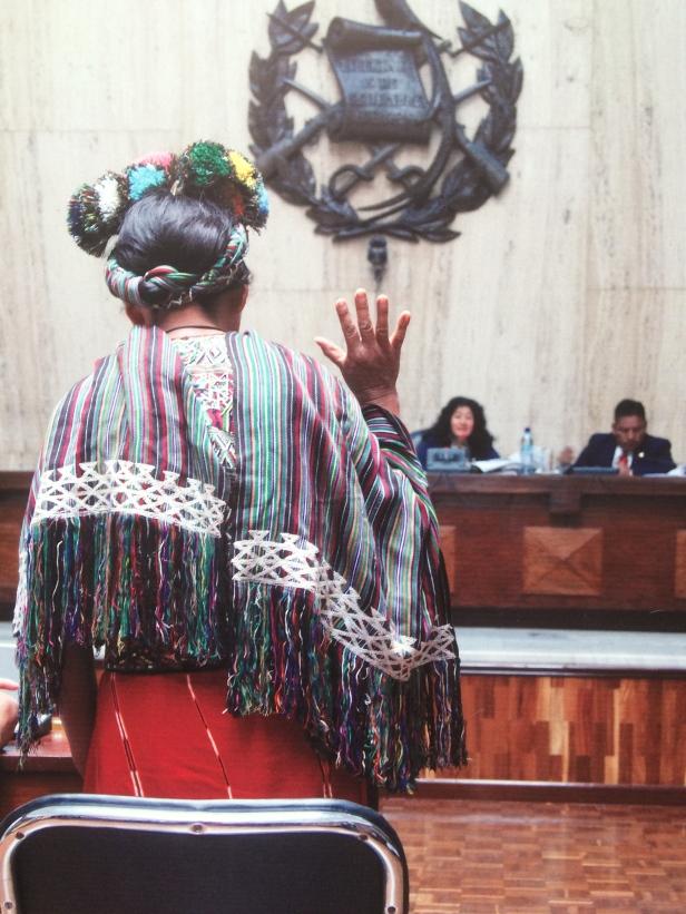 Testimonianze caso per genocidio, donna maya Ixil. ©AVidoli2016