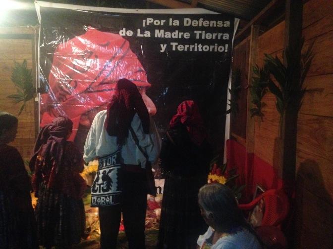 El Estor: Schüsse gegen das Haus der Menschenrechtsverteidigerin Angélica Choc