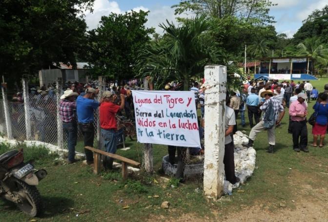 Alternative Entwicklungspolitik im Naturschutzgebiet Guatemalas?