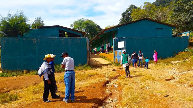 No a la Mineria ! Klare Ansage aus San Carlos Alzatate