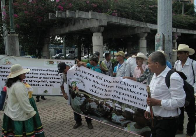 Kriminalisierung des Ch'orti'-Volkes